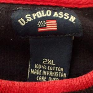 U.S. Polo Assn. Sweaters - U.S. Polo Assn. Long Sleeve Sweater